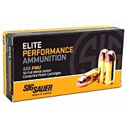 SIG AMMO 10MM AUTO 180GR. FMJ 50-PACK