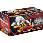 FED AMMO AE .22-250 REM. 50GR. JACKETED HOLLOW POINT 50-PACK