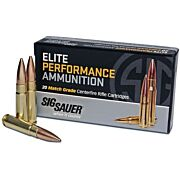 SIG AMMO .308 WINCHESTER 175GR. OPEN TIP MATCH 20-PACK