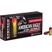 FED AMMO AE .40SW 165GR. TOTAL SYNTHETIC JACKETS 50-PK