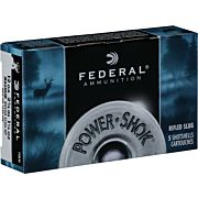 "FEDERAL 12GA. 2 3/4"" 1 1/4OZ. SLUG 5-PACK"
