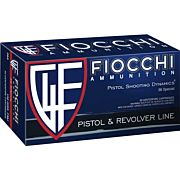 FIOCCHI AMMO .38 SPECIAL 158GR. JHP 50-PACK