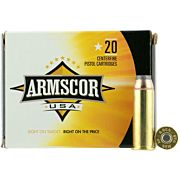 ARMSCOR AMMO .44 MAGNUM 240GR. JHP 20-PACK