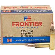FRONTIER AMMO .223 REMINGTON 55GR. FMJ 50-PACK