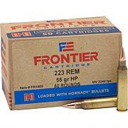 FRONTIER AMMO .223 REMINGTON 55GR. HPBT MATCH 50-PACK