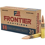 FRONTIER AMMO .300AAC BLACKOUT 125GR. FMJ 20-PACK