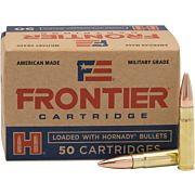 FRONTIER AMMO .300AAC BLACKOUT 125GR. FMJ 50-PACK