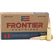 FRONTIER AMMO 6.5 GRENDEL 123GR. FMJ 20-PACK