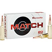 HORNADY AMMO MATCH .300WM 195GR. ELD 20-PACK