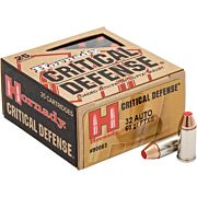 HORNADY AMMO CRITICAL DEFENSE .32ACP 90GR. FTX 25-PACK