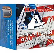 HORNADY AMMO AMERICAN GUNNER .380ACP 90GR. XTP 25-PACK