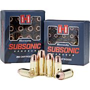HORNADY AMMO SUBSONIC 9MM LUGER 147GR. XTP 25-PACK