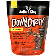 ANTLER KING DOWN & DIRTY ATTRACTANT 5# BAG