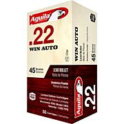 AGUILA .22 WINCHESTER AUTO 45GR. LRN 50-PACK !