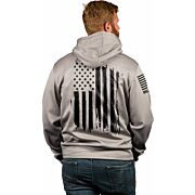 NINE LINE APPAREL AMERICA TAIL GATER HOODIE GREY HEATHER 2XL