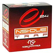 "NOBELSPORT AMMO DUE TRAP 12GA. 2.75"" 1319FPS. 24 GRAM #8 25PK"