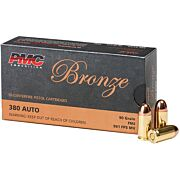 PMC AMMO .380ACP 90GR. FMJ 50-PACK