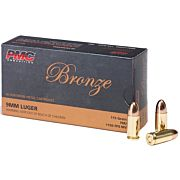 PMC AMMO 9MM LUGER 115GR. FMJ 50-PACK