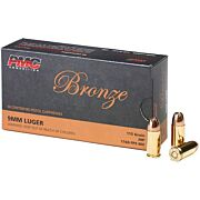 PMC AMMO 9MM LUGER 115GR. JHP 50-PACK