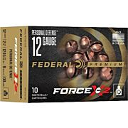 "FED AMMO 12GA. 2 3/4"" 9 PELLET FX2 OOBK 10-PK"
