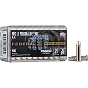 FED AMMO .22LR PUNCH 29GR. FN 50-PACK