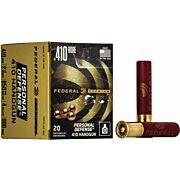 "FED AMMO PREMIUM .410 2.5"" 000 BUCK 4-PELLETS 20-PACK"