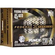 FED AMMO PUNCH .45ACP 230GR. JHP 20-PACK