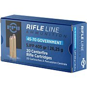 PPU AMMO .45-70 GOVERNMENT 405GR. SJ-FLAT POINT 10-PACK