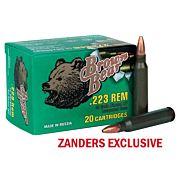 BROWN BEAR .223 REMINGTON 62GR HP 20-PACK