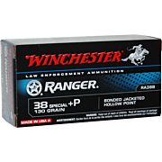WIN AMMO RANGER .38 SPECIAL +P 130GR. PDX1 JHP 50-PACK