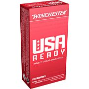 WIN AMMO USA READY 9MM LUGER 115GR. FMJ-MATCH 50-PACK