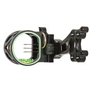 TROPHY RIDGE BOW SIGHT JOKER-3 3-PIN .019 AMBIDEXTROUS BLACK
