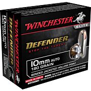 WIN AMMO DEFENDER 10MM AUTO 180GR. BONDED JHP 20-PACK