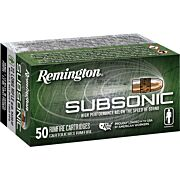 REM AMMO SUBSONIC .22LR 50-PK 40GR. COPPER PLATED LEAD HP
