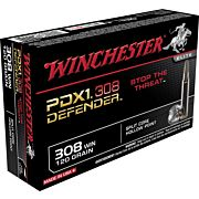WIN AMMO SUPREME .308 20-PACK 120GR. DEFENDER