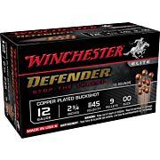 "WIN AMMO DEFENDER 12GA. 2.75"" 00BK 9-PELLETS 10-PACK"