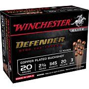 "WIN AMMO DEFENDER 20GA. 2.75"" 3BK 20-PELLETS 10-PACK"