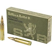 S&B AMMO 5.56X45MM (M193) 55GR. FMJ-BT 20-PACK