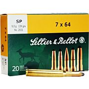 S&B AMMO 7X64MM 139GR. JSP 20-PACK