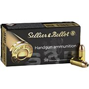 S&B AMMO 9MM LUGER 124GR. JHP 50-PACK