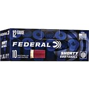 "FED AMMO 12GA. 1 3/4"" #8 SHORTY SHOTSHELL 10-PACK"