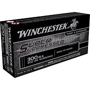WIN AMMO SUPER SUPPRESSED .300 AAC BLACKOUT 200GR. FMJ 20-PK