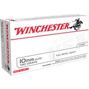 WIN AMMO USA 10MM AUTO 180GR. FMJ 50-PACK