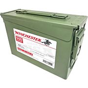 WIN AMMO USA .40SW 165GR. FMJ-TC 1000-PK AMMO CAN
