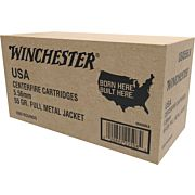 WIN AMMO USA 5.56MM(1000 CASE) 55GR. FMJ PACKED IN TRAYS