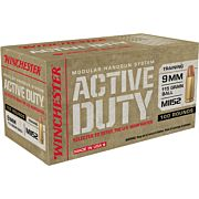 WIN AMMO ACTIVE DUTY 9MM LUGER 115GR. FMJ-FN 100-PACK