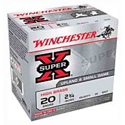 "WIN AMMO SUPER-X 20GA. 2.75"" 1220FPS. 1OZ. #7.5 25-PACK"