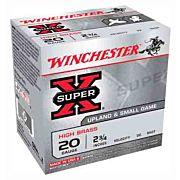 "WIN AMMO SUPER-X 20GA. 2.75"" 1220FPS. 1OZ. #8 25-PACK"