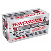 WIN AMMO SUPER-X .22LR 1255FPS. 40GR. LEAD RN 50-PAC