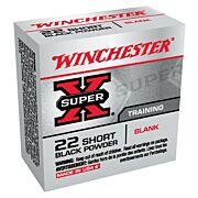 WIN BLANKS .22 SHORT 50-PACK BLACK POWDER BLANKS